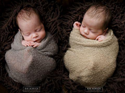 Babyfotograf Fulda Zwillinge Foto